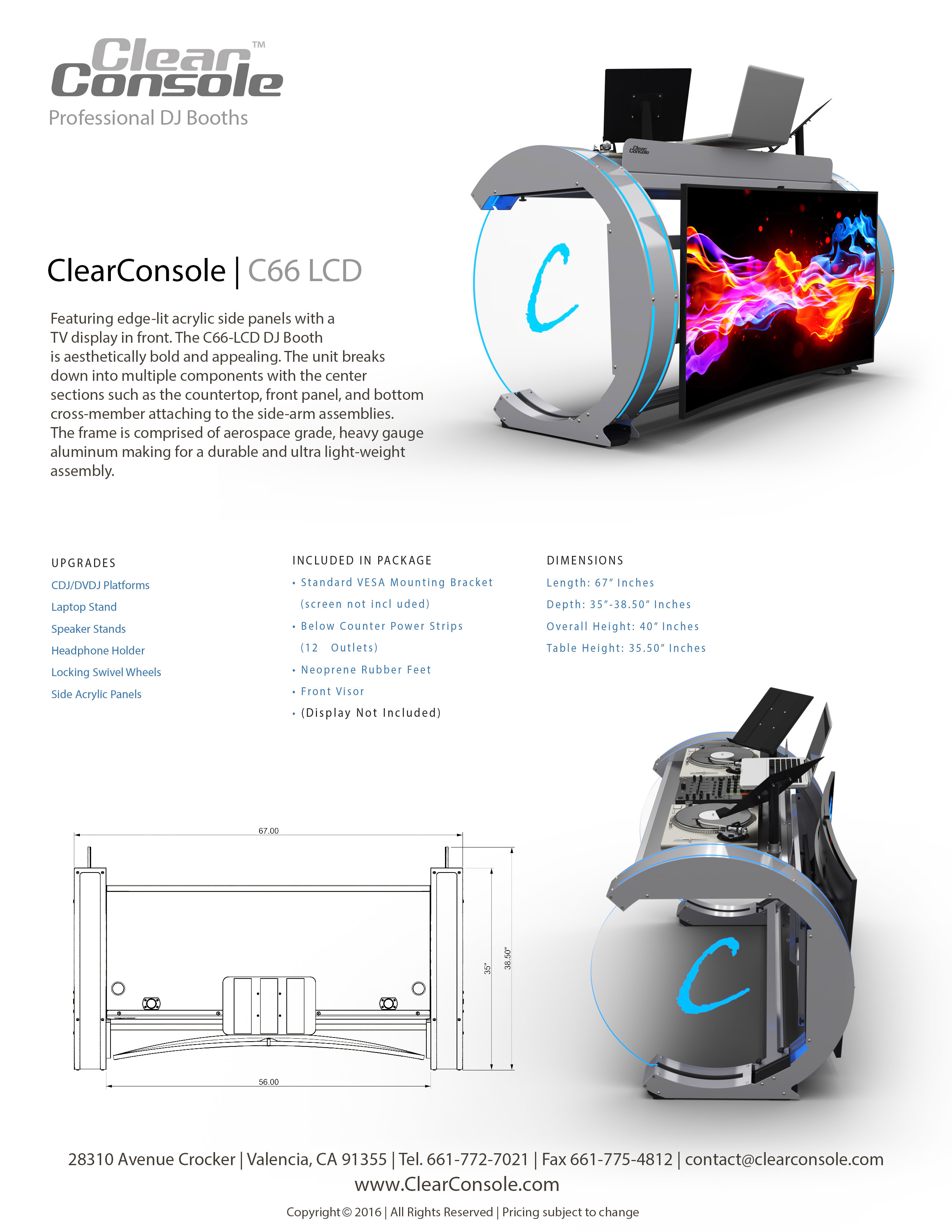 Cool C Dj Booth Professional Dj Booths Dj Stands Clearconsole Download Free Architecture Designs Rallybritishbridgeorg